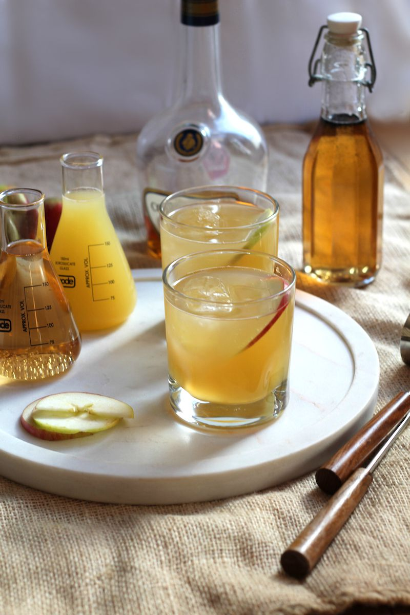 The Brandy Apple- an Autumn cocktail