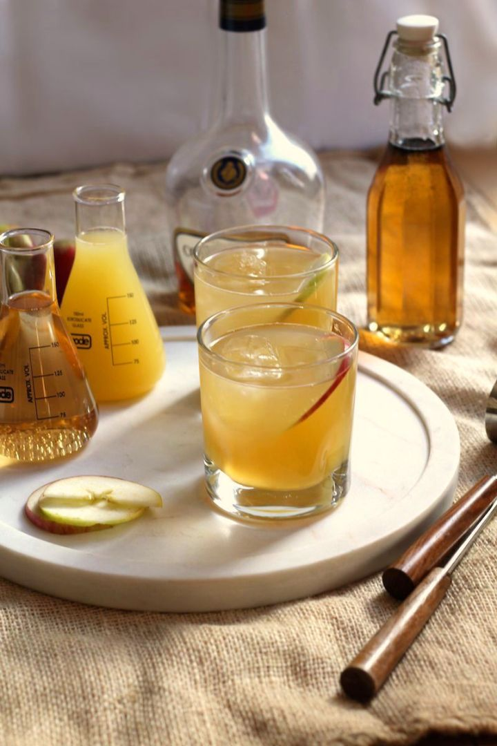 The Brandy Apple. A cocktail for Autumn | www.alifeofgeekery.co.uk