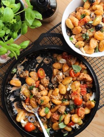 Easy weeknight gnocchi recipe
