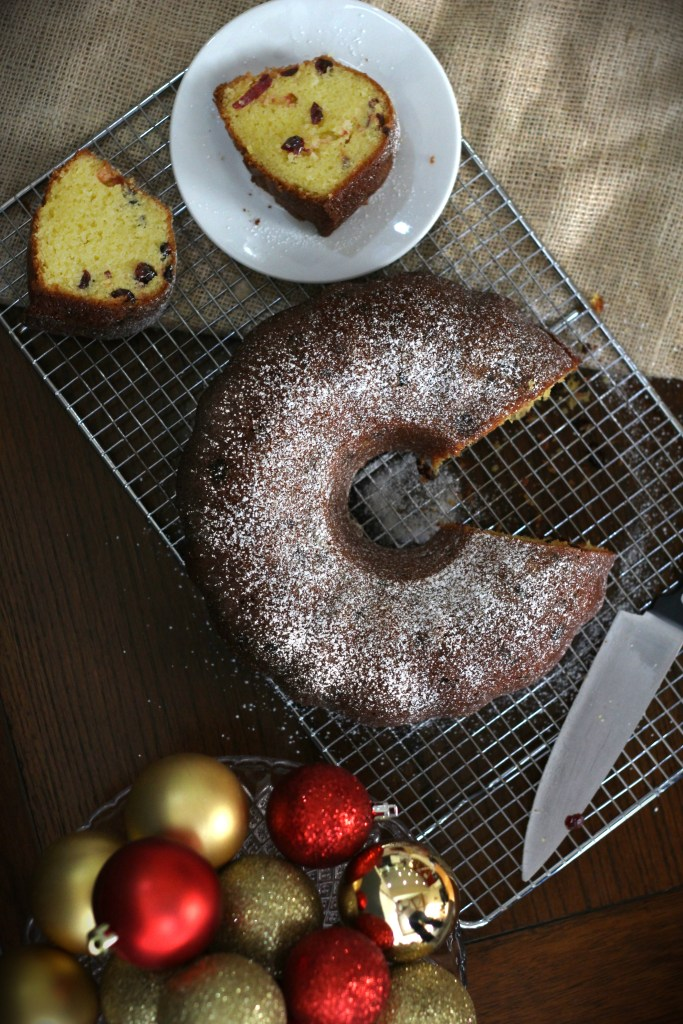 Cranberry Christmas Bundt