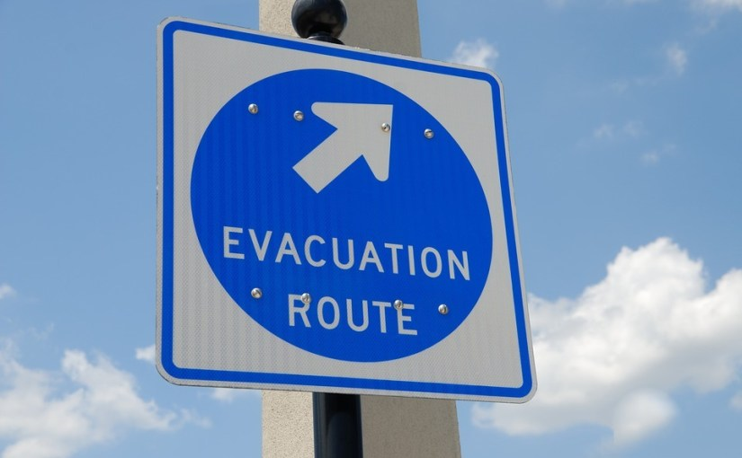 What an evacuation taught me about naivety, arrogance, and God