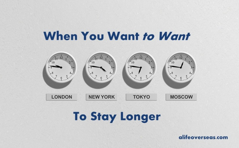 When You Want to Want to Stay Longer