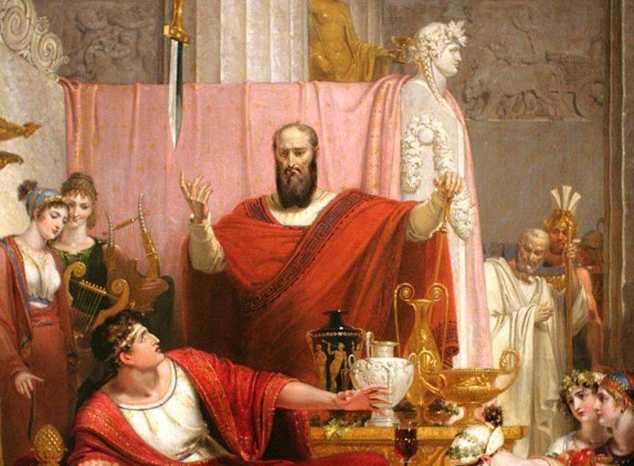 What C.S. Lewis, Paul, and the Sword of Damocles can Teach us About Living in Terrible Times
