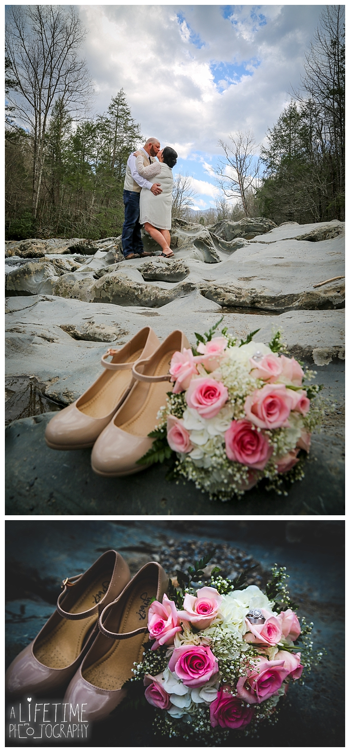 Jason  Kristy  Little Log Wedding Chapel  Gatlinburg TN
