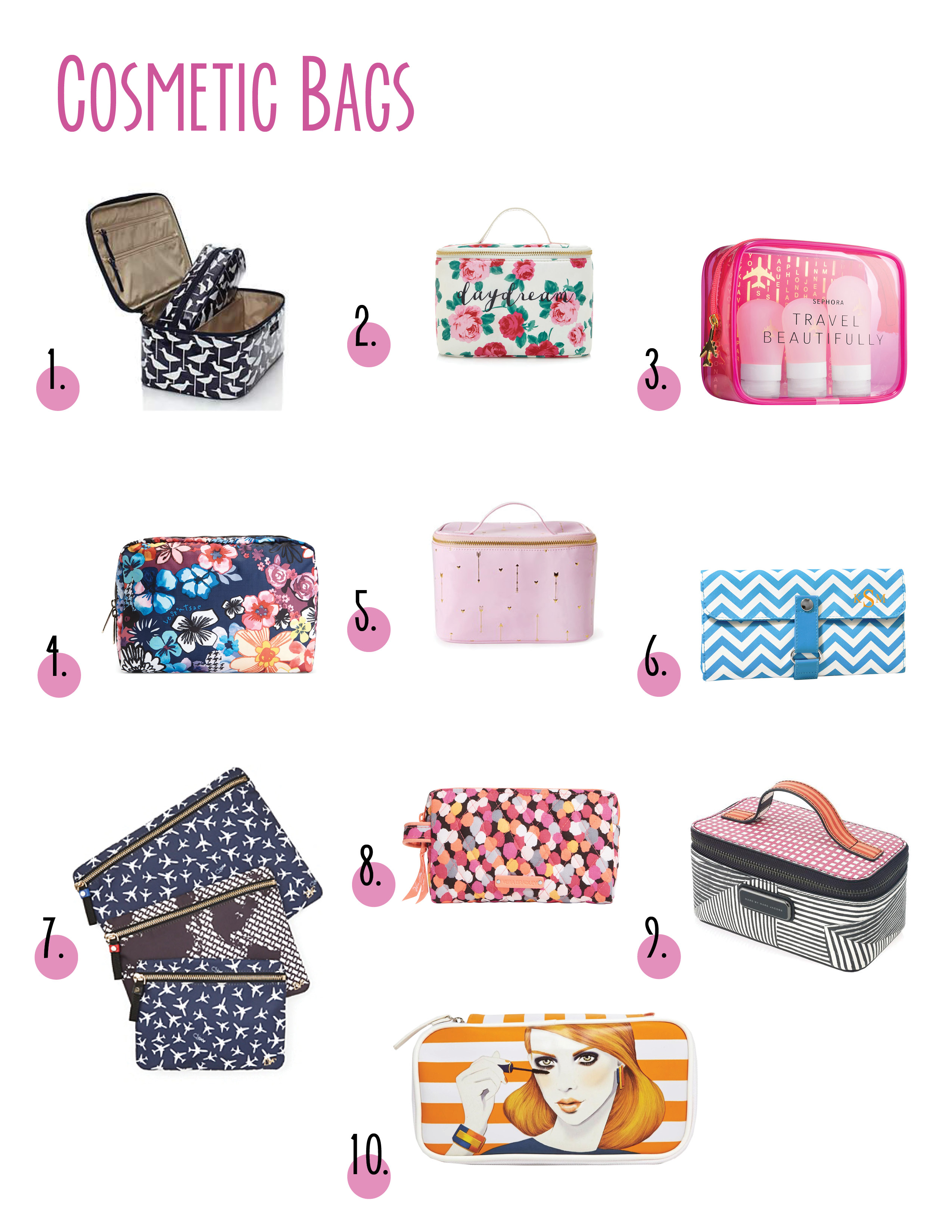 best service f6130 9c62e Cosmetic Bags | A Life Well Consumed | A Vancouver Based Lifestyle Blog