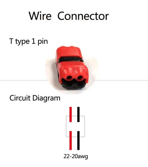 small resolution of  quick splice low voltage wire connection h2