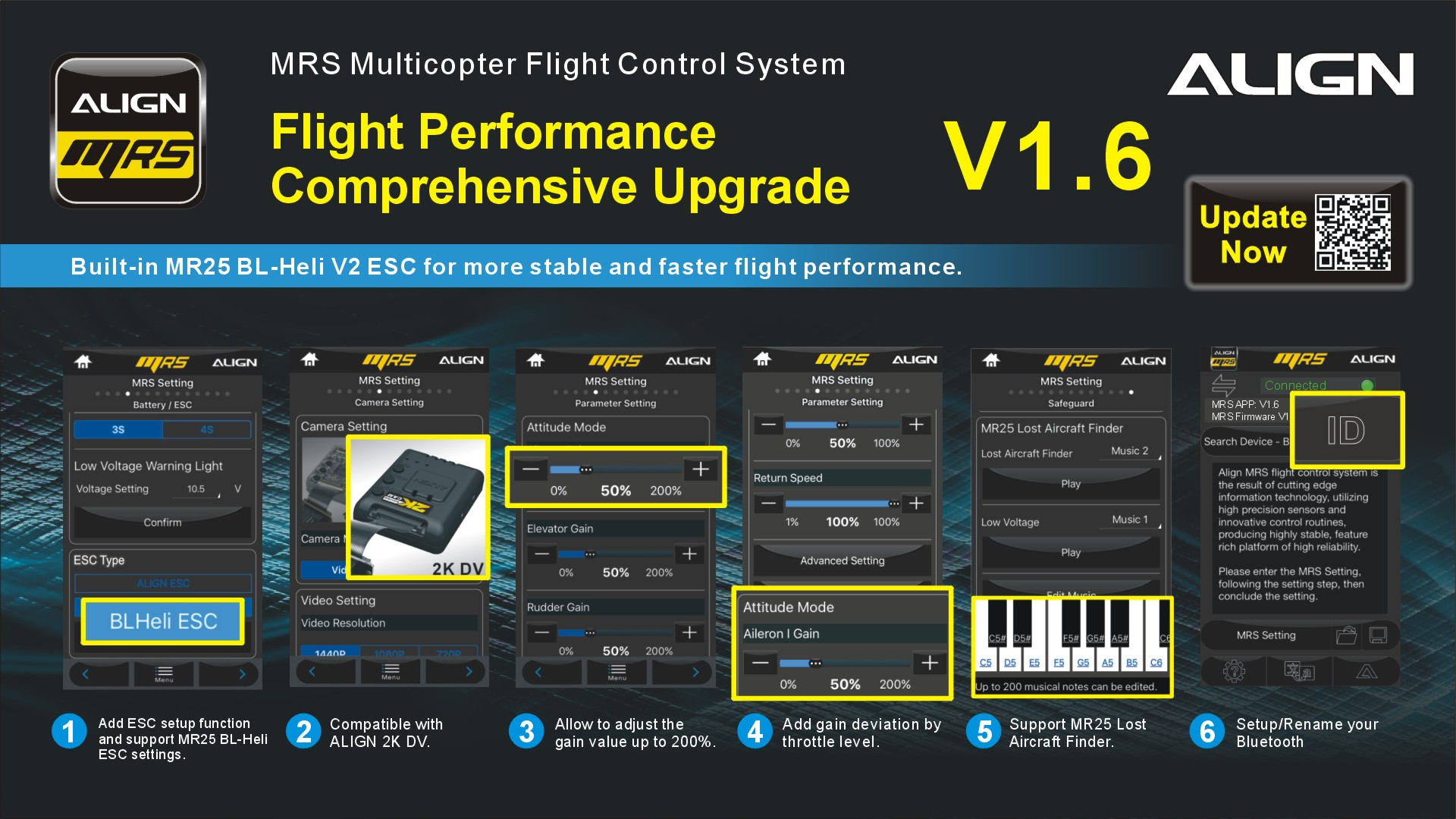 Whole New MR25 V1 6 Firmware Update App     For Free - ALIGN