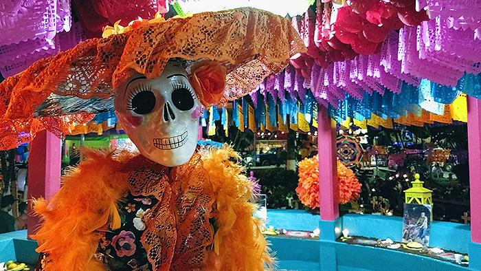 dia de los muertos day of the dead skeleton