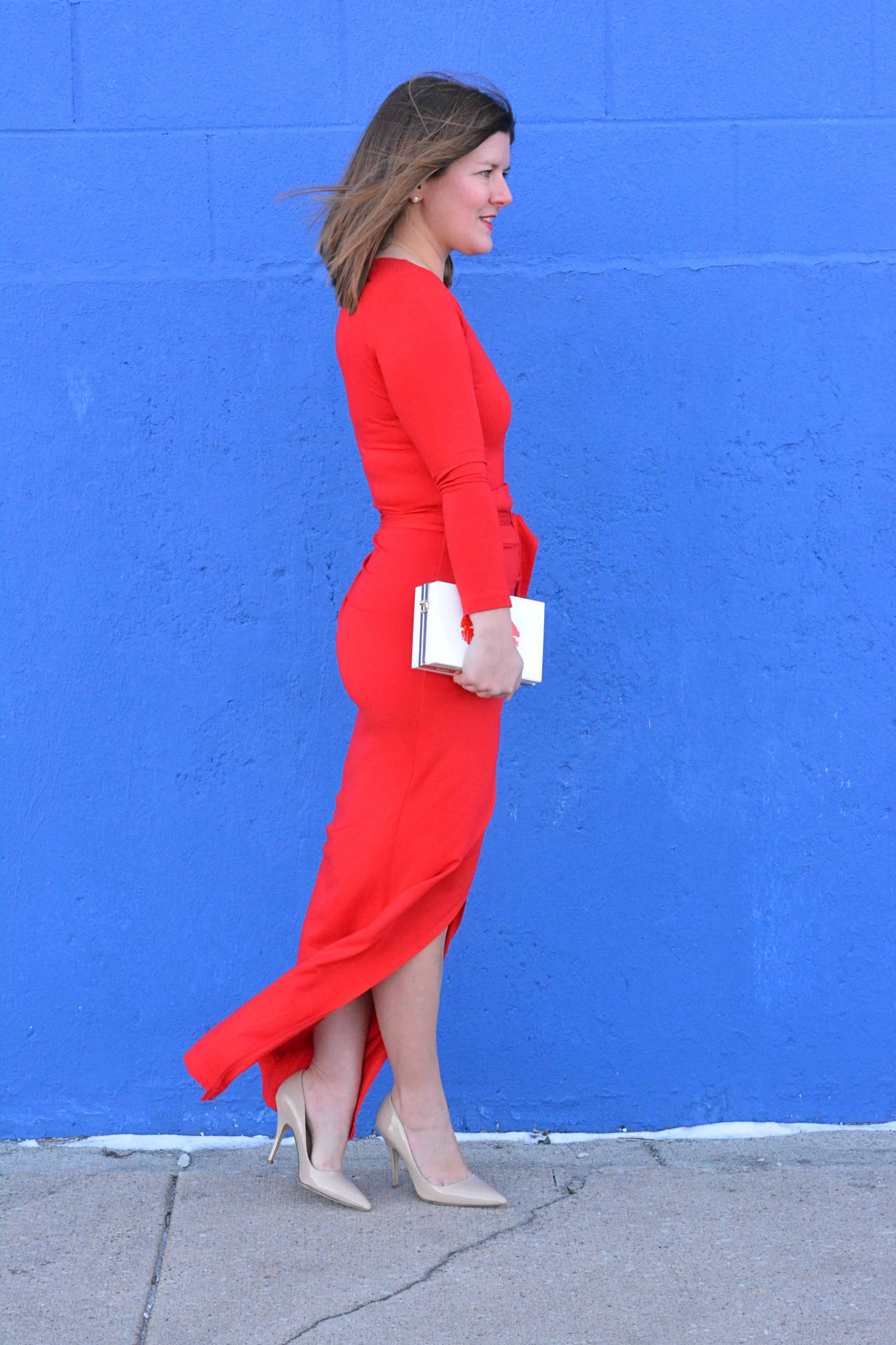 Valentines Day Outfit Vol 2 Red Maxi Dress A Lily