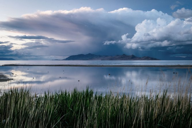 clouds-grass-great-salt-lake-1204430_Edited