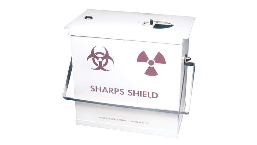 Sharps Container Beta/Gamma Monoject Shields