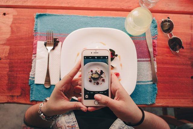 redes sociales comer saludable