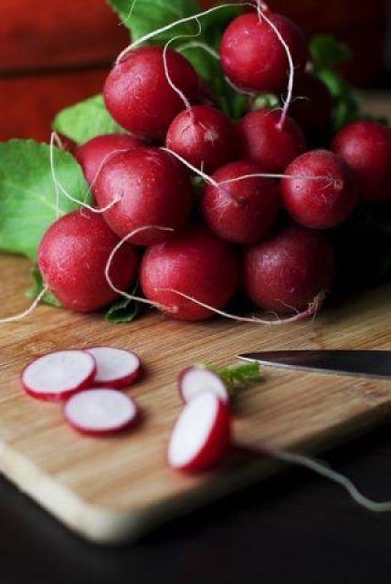 rabanitos dieta crudivegana