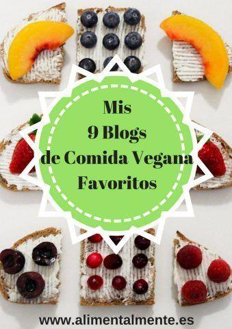 Mis 9 Blogs de Comida Vegana Favoritos