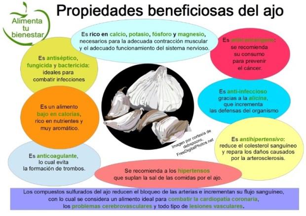 los beneficios del ajo para la salud