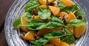 Ensalada con alimentos depurativos y desintoxicantes