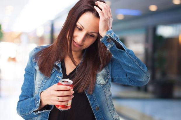 resaca consecuencia de la bebida