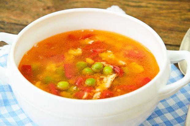 sopa en el menú semanal