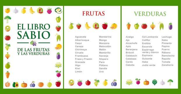 tabla de frutas y sus beneficios
