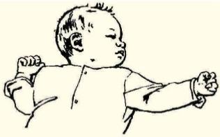 Reflejo primitivo asimetrico del cuello y Rendimiento escolar