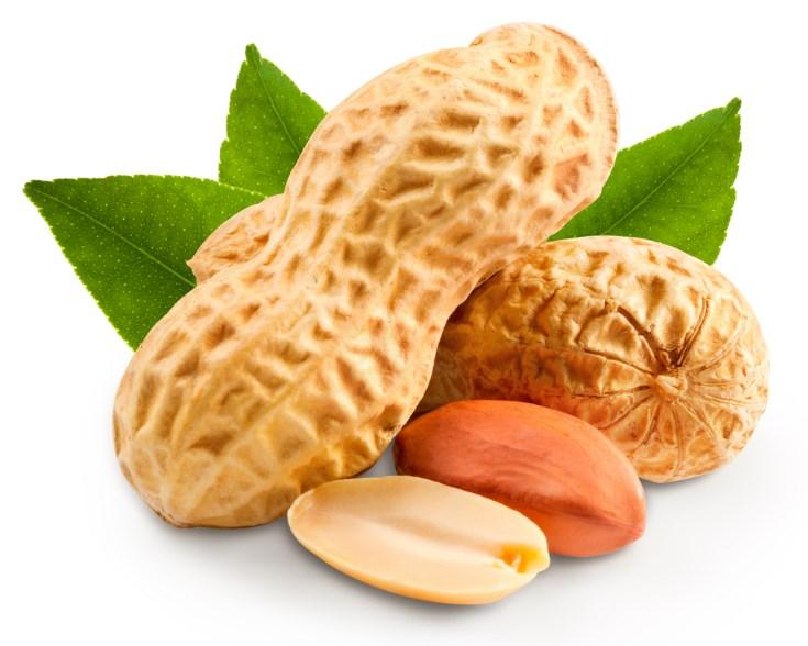 cacahuetes entre los mejores frutos secos