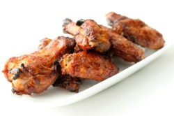 Recetas veraniegas saludables Alas de pollo al horno