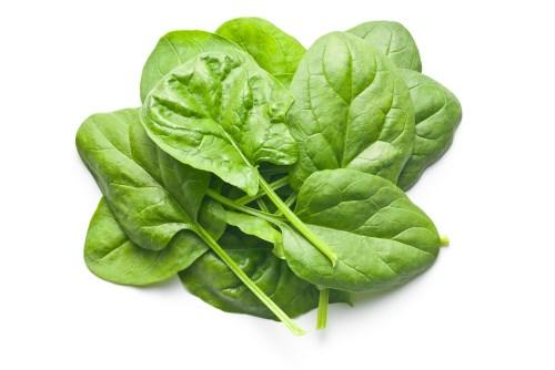 Las mejores hortalizas verdes para ensaladas - espinacas