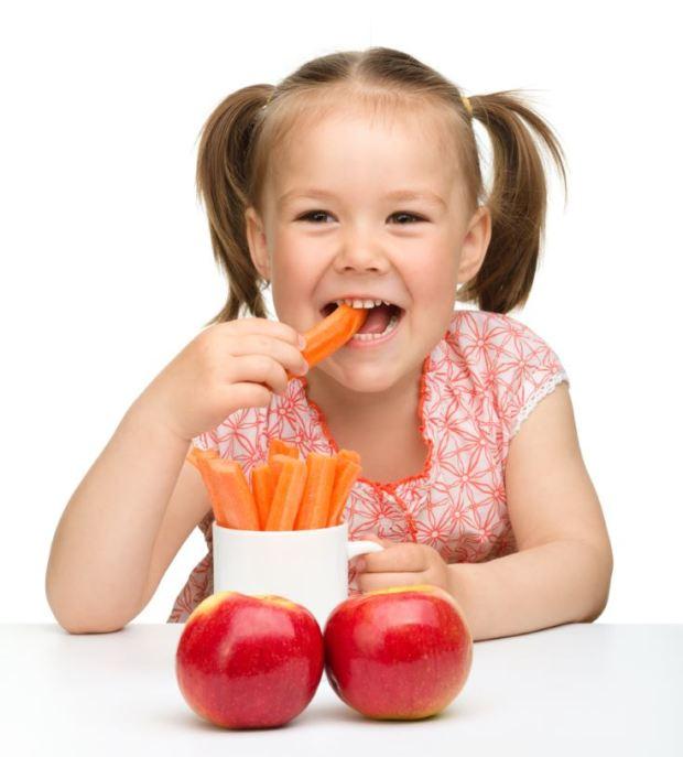 Alimentos necesarios para el crecimiento de niños