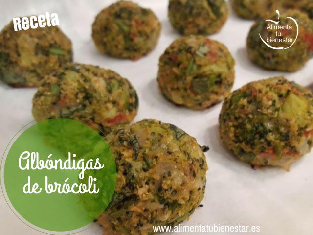 Receta Albóndigas de brócoli