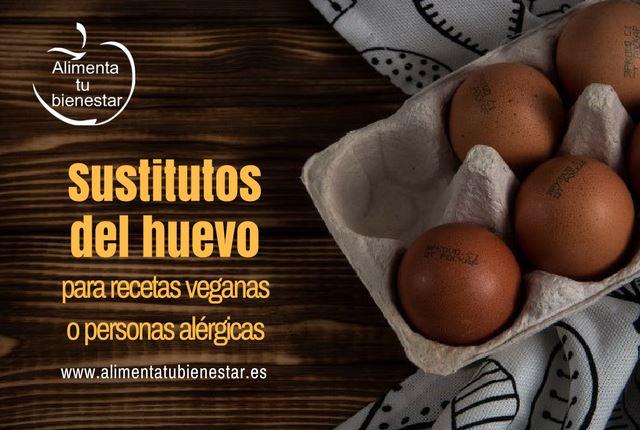 sustitutos del huevo para recetas