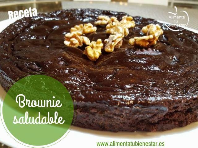 Brownie saludable receta