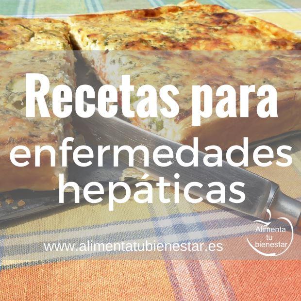 dieta hepática recetas