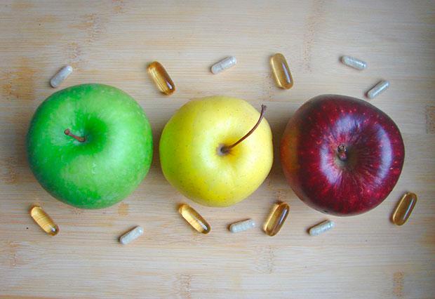 suplementos alimenticios y medicamentos