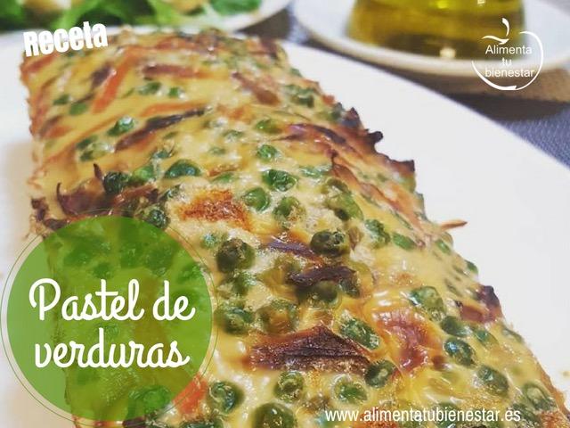 Pastel de verduras receta