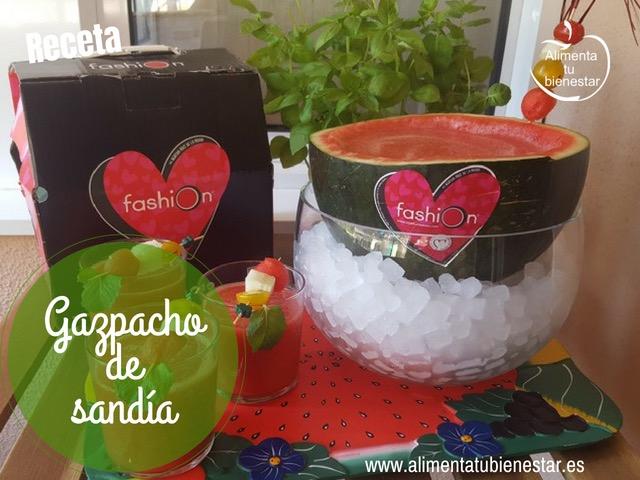 Gazpacho de Sandía, una receta refrescante