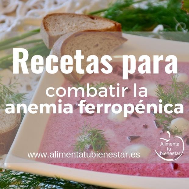 dieta para eliminar la anemia