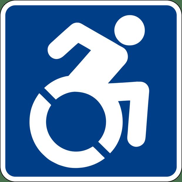 Discapacidad símbolo de solidaridad