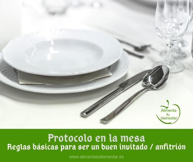 Protocolo en la mesa: reglas básicas para un buen invitado y anfitrión