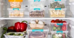 Recomendaciones para conservar los alimentos en la nevera