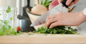 Tipos de cortes de verduras en la cocina