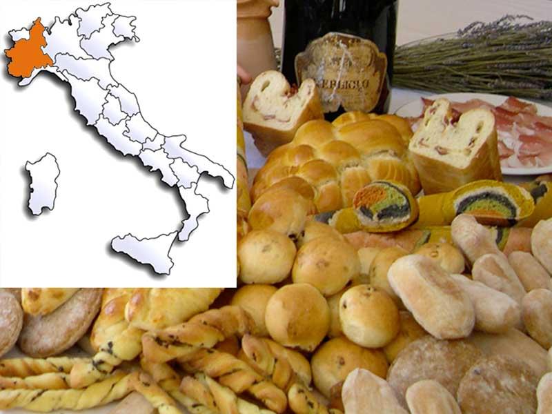 Pane tipico del Piemonte  Il pane piemontese