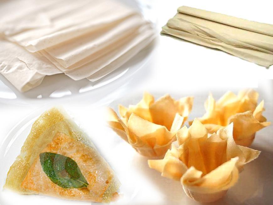 Pasta fillo o phillo  Ricetta di Sara Papa  Alimentipedia enciclopedia degli alimenti