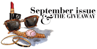 September Issue & the giveaway