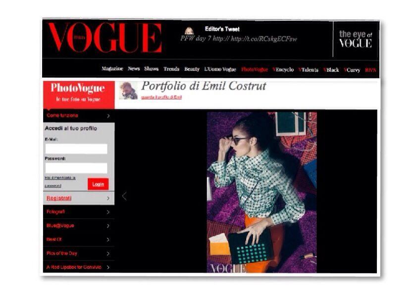 We're in Vogue!