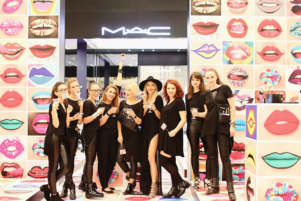 M·A·C COSMETICS opened a new store in IASI