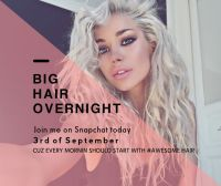 How to: Overnight volume & texture