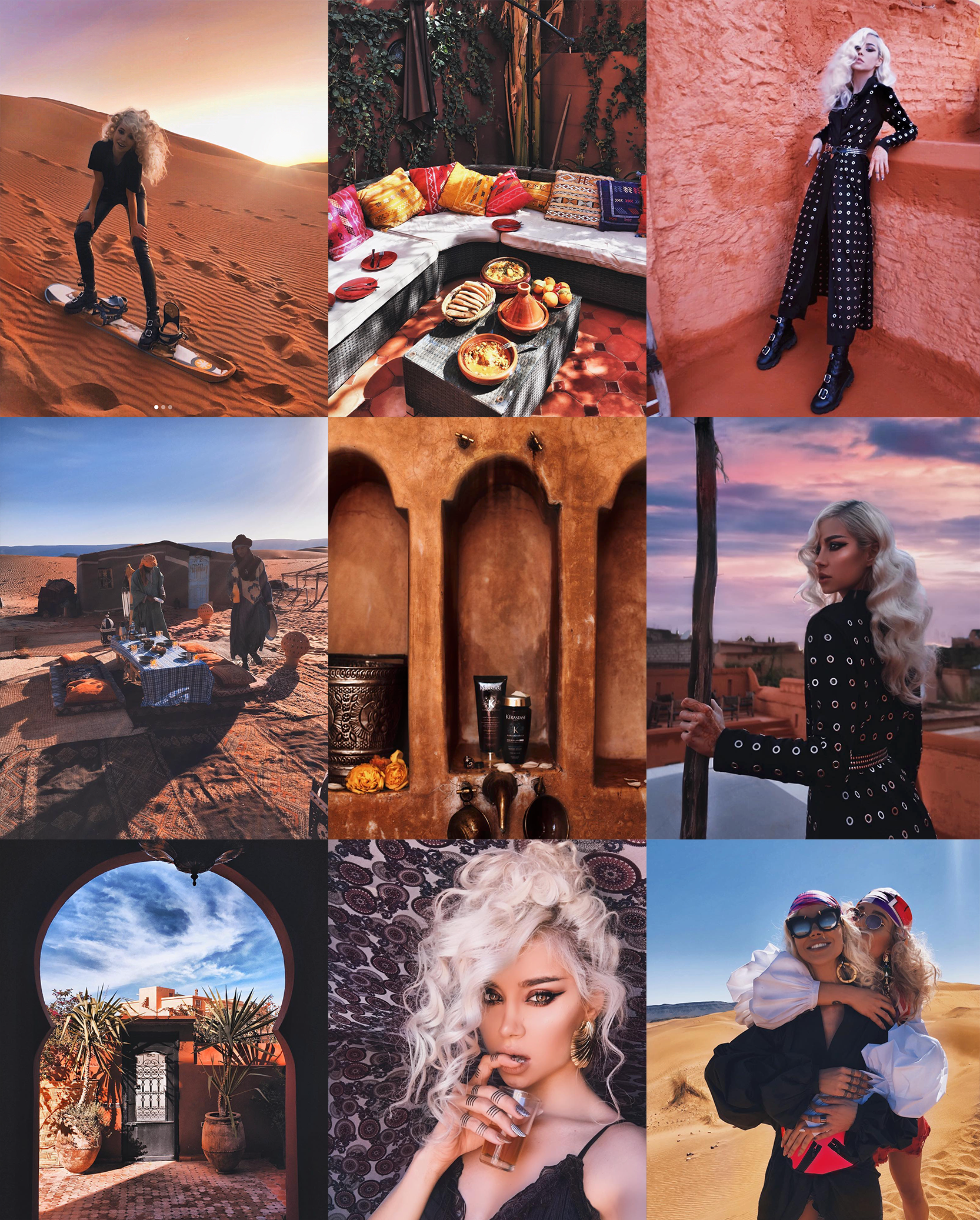 Travel with us: Morocco, Marrakech, Sahara.