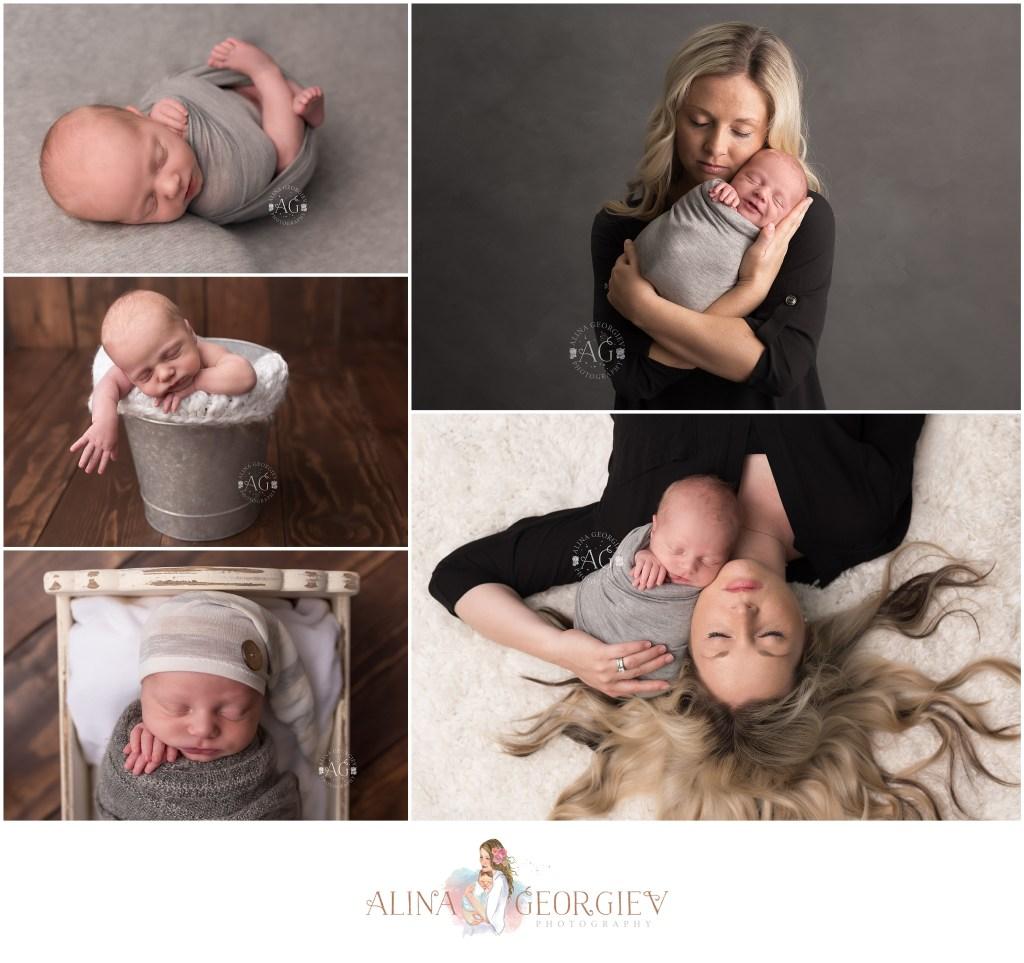 Plano Newborn Photographer Baby Hawkins