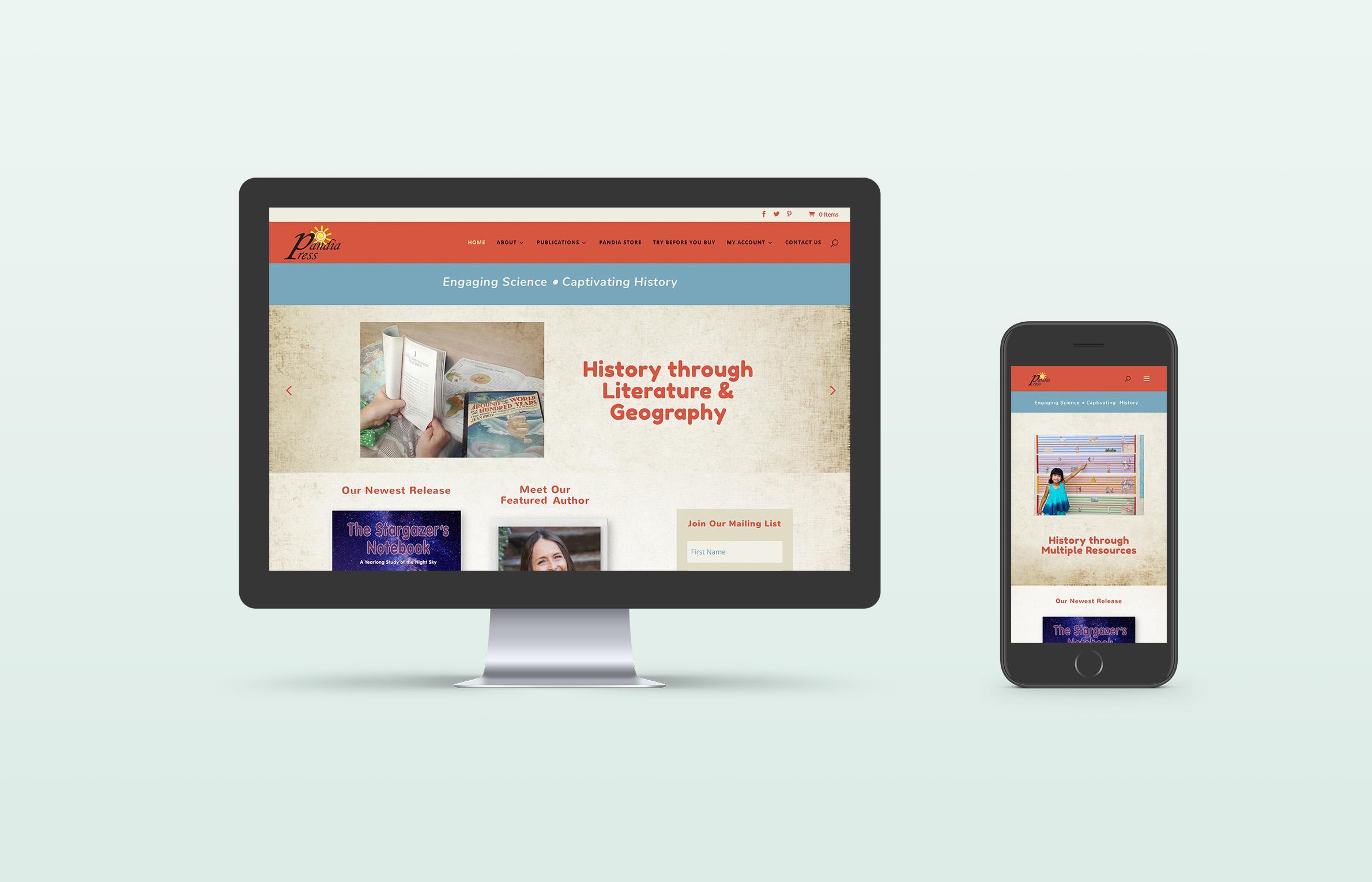 Pandia Press Website