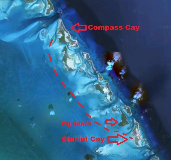 map comapss staniel
